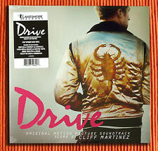 OST   CLIFF MARTINEZ – DRIVE  Soundtrack  Opaque Gold coloured  vinyl 2LP SEALED