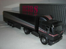 NZG 313 Mercedes Benz 1838 S Sattelzug Maschine LKW Semi Truck Trailer Box 1:43