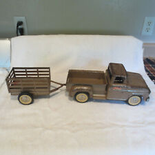 Vintage Tonka Pickup with Trailer to Restore