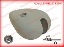 Brand New Customized Ready To Paint Petrol Tank For Triumph 3hw + Cap + Tap