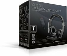Gioteck Xh100 Wired Stereo Headset Black PlayStation 4 Xbox One PC Mobile