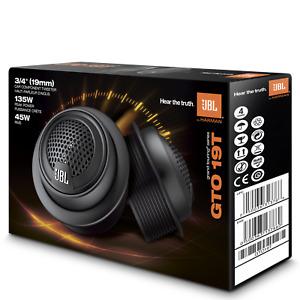 """JBL GTO19T Premium 3/4"""" 135 Watts Component Car Audio Speaker Soft Dome Tweeters"""