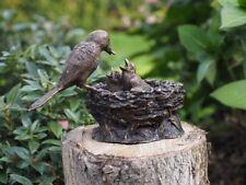 Bronzeskulptur,Vogelnest,Statuen,Gartenfigur,Dekor,Tierfigur,Garten,