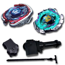 Beyblade Launcher Grip Set Combo Pack Blitz Unicorno 4D, Big Bang Cosmic Pegasus