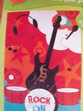 Designware Party Photo Backdrop Rock On Guitar 5' x 3.3' Nip
