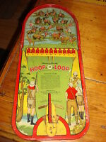 Antique 1925 Wolverine SUNNY ANDY HOOP-O-LOOP TIN HUNTING GAME
