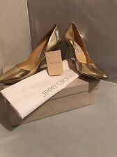 New in Box! Jimmy Choo Mei Metallic Leather Pumps- size 9/39