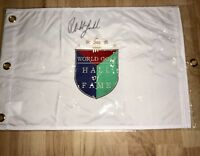 PHIL MICKELSON Signed AUTOGRAPHED HALL OF FAME GOLF FLAG - JSA COA