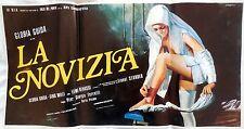 locandina playbill LA NOVIZIA Pier Giorgio Ferretti gloria guida milli erotico