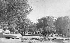 Manitou Springs Colorado Prices Wonder View Motel Vintage Postcard K55679