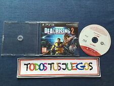 Dead Rising 2 Playstation 3 Version PROMO EXCELENTE CONDICION RARO RARE