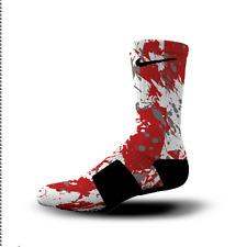 Custom Nike Elite Socks All Sizes OHIO STATE SPLATTER
