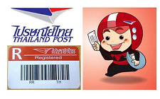 Thailand Post Shipping Tracking Number Registered Mail