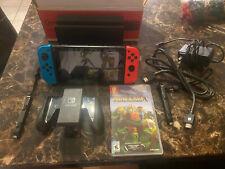Nintendo Switch Console Complete + Minecraft