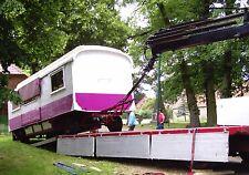 TRANSPORT BAUWAGEN,  WoMo, Schaustellerwagen, Zirkuswagen, Wohnwagen