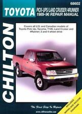 Toyota: Pick-Ups/Land Cruiser/4Runner 1989-96 (Chilton's Total Car Care Repair M