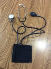 Omron Sphygmomanometer With black Cotton Cuff and stethoscope set