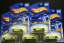 5 NEW HOT WHEELS TANTRUM FIRST EDITION 015 LIME GREEN