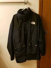 North Face 90s Navy Gortex Parka Jacket