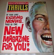 SCREEN THRILLS ILLUSTRATED - #1, 2 & 4 - THREE MAGAZINE COMBO PACK (1962-1963)