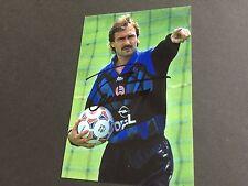 RAIMOND AUMANN In-Person FC BAYER MÜNCHEN signed Photo 10x15