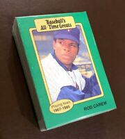 "50) ROD CAREW Minnesota Twins 1987 Hygrade ""All Time Greats"" Baseball Card LOT"