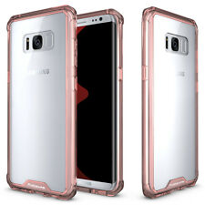For Samsung Galaxy Note 8 /S8 Plus Soft TPU Shockproof Bumper Clear Case Cover