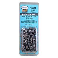 Kadee 140 Bulk Pack 50 pair #148 Whisker® Metal Couplers : HO Scale