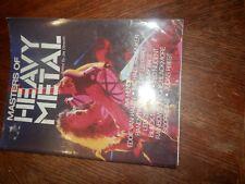 Masters of Heavy Metal 1984 Softcover Book, Has Wear, Hendricks, Van Halen, Etc.