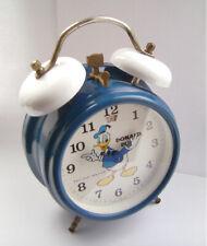 Donald Duck - Bradley - Disney - All Working - Mechanical Alarm Clock - 1960's