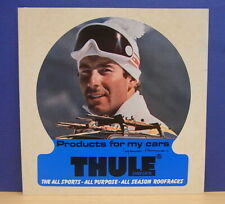 1x Sticker - Decal Thule Sweden / Roofracks with org.back 80's (1832)