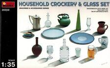 MiniArt 35559 Household Crockery & Glass Set - Zubehör - 1:35