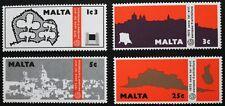 European architectural heritage year stamps, Malta, 1975, SG ref: 545-548, MNH