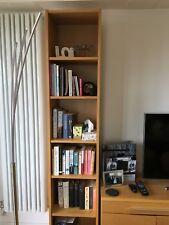 Mint condition Ikea billy bookcase oak, 40cm wide, 202cm high, 28 cm deep