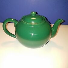 Williams-Sonoma 4 cup Green Porcelain Teapot With Lid and Insert