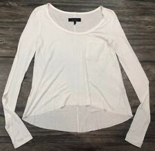 Rag & Bone Shirt Long Sleeve Bold Sophisticated White Sz XS Womens 69L