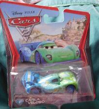 Disney Pixar Cars 2 Diecast CARLA VELOSO #8 2010
