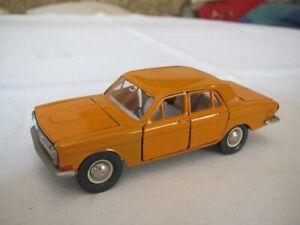 Novoexport   Wolga A 3 - 24  orange   1/43  Made in CCCP