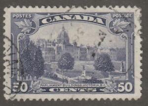 Canada 1935 #226  - KGV Pictorial Issue (Parliament, BC) - VF U