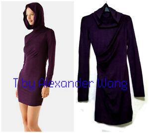 T by Alexander Wang purple hoodie