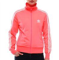 New Adidas Originals Women Firebird GLOW Pink Color Neon Jacket Hoodie O57522