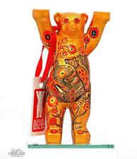 Buddy Bear Berlín dorada con Oso nuevo Klein 6cm decorativo oro con caja de regalo