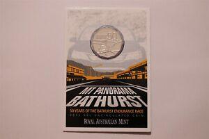 AUSTRALIA 2013 Bathurst 50c cent 50 Years of Mt Panarama Card B34 RAF2