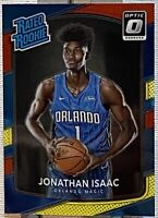 2017-18 Donruss Optic Rated Rookie Red & Yellow Jonathan Isaac #195 Magic