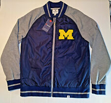 Michigan Wolverines Fanatics Jacket Size Mens Large New with tag