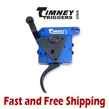 Timney Calvin Elite Adjustable 2-Stage Curved Trigger w/Safety for Remington 700