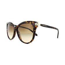 Bvlgari BV 8188b 504/13 Dark Havana Frame Brown Shaded Lens Sunglasses 57