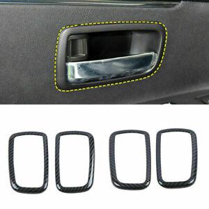 4X Inner Door Handle Bowl Cover Trim for Mitsubishi ASX Outlander Sport 2013-21