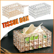 """7.8""""Tissue Box Paper Rack Office Table Accessories Holder Napkin Tray Home Hot"""