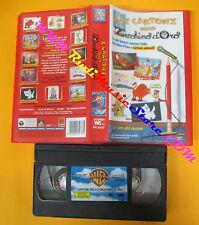 VHS film I CARTONI DELLO ZECCHINO D'ORO 2000 animazione PIV 93177 (F126) no dvd
